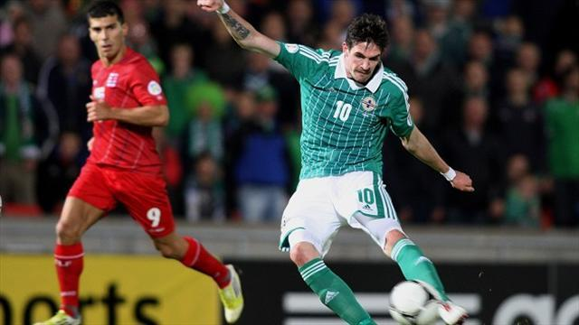 World Cup - Lafferty returns for Russia clash