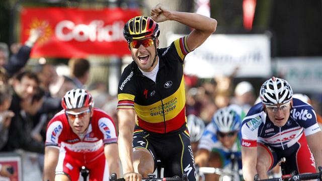 Boonen claims opening World Ports stage