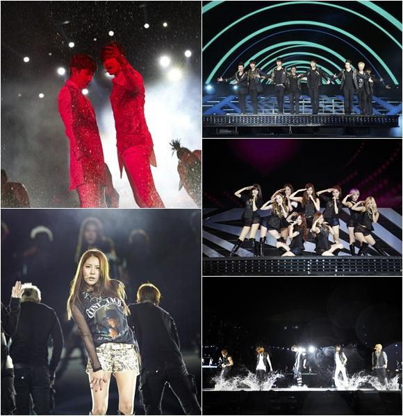 SMTOWN LIVE WORLD TOUR III in SINGAPORE attended by 26,000 fans