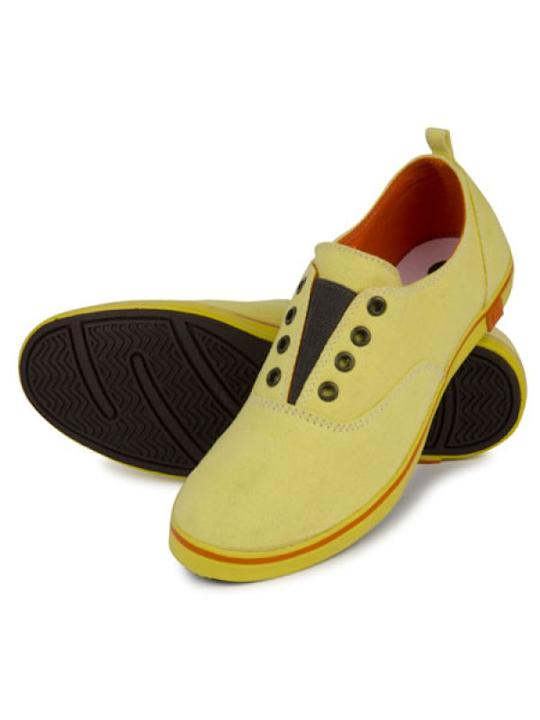 Brand: FreecultrWhat: Yellow slip-on sneakersPrice: Rs.1,399Where to buy: Freecultr.com