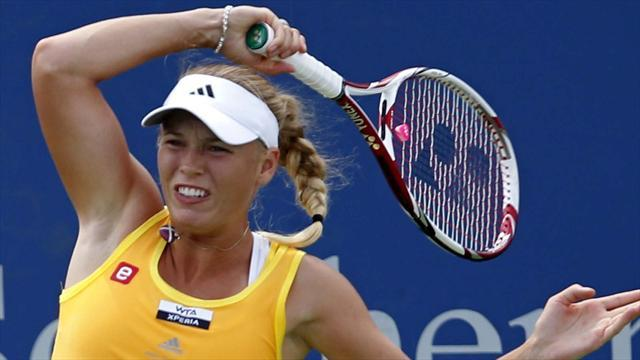 Wozniacki reaches final in Seoul
