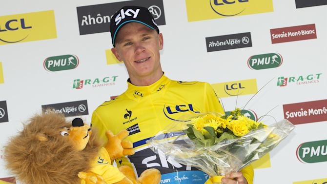 Cycling - Froome wins second stage of Dauphine