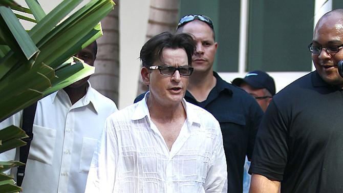 Charlie Sheen, Miami
