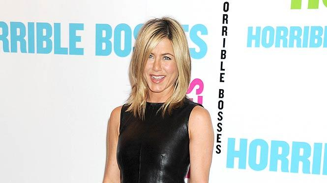 Jennifer Aniston Horrible Bosses Pr
