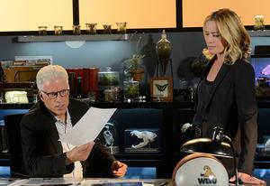 Ted Danson, Elisabeth Shue | Photo Credits: Neil Jacobs/CBS