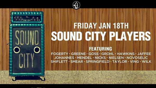 Dave Grohl Taps John Fogerty, Stevie Nicks for Sound City Players Sundance Gig