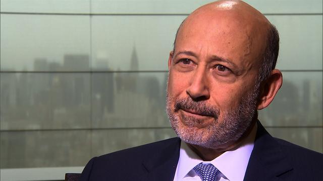 Goldman Sachs CEO on market sentiment