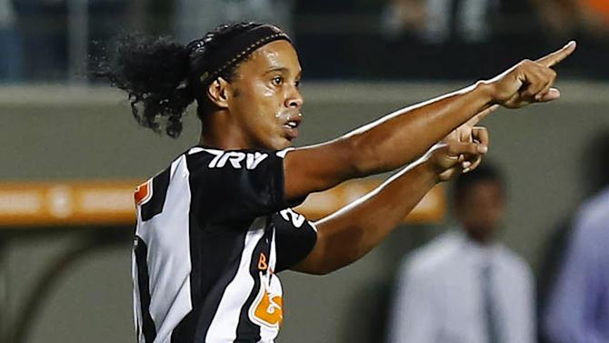 South American Football - Ronaldinho to reveal next port of call after leaving Atletico Mineiro