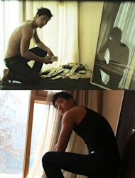 Photos of Kim Gangwoo from movie 'Taste of Money' revealed