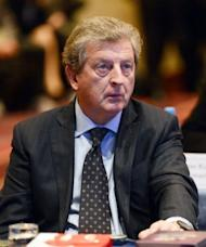 """England manager Roy Hodgson at the opening session of the UEFA Conference for European National Team Coaches on September 24. """"I have enjoyed a good relationship with John during my time as England manager and I reluctantly accept his decision,"""" said Hodgson"""
