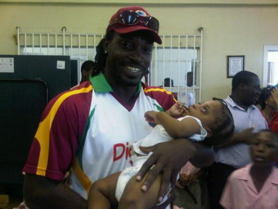 Chris Gayle on Twitter