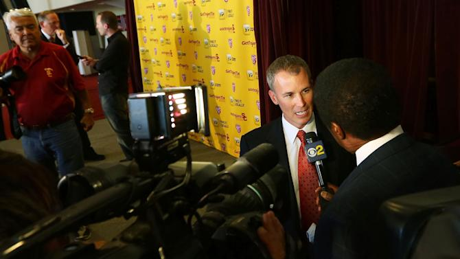 USC Introduces New Basketball Coach Andy Enfield