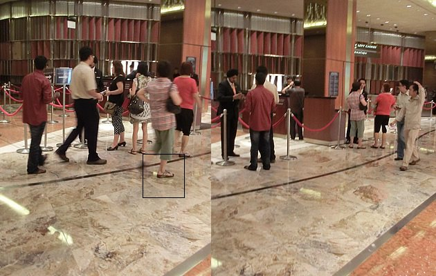 """Fit Flop Aunties"" are a common sight at the MBS Casino (Yahoo! Photos)"