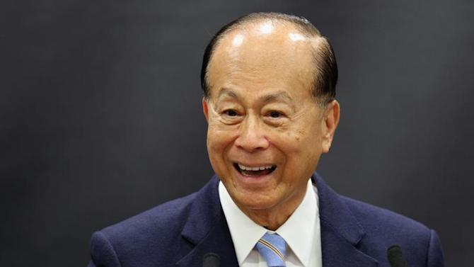 Hong Kong tycoon Li Ka-shing, speaks in the newly opened 'Li Ka-shing Centre for Health Information and Discovery' at Oxford University in Oxford