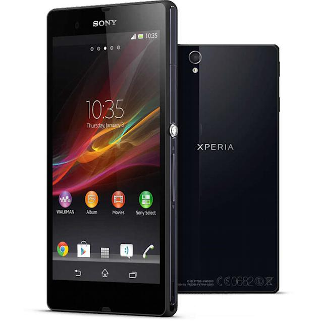 Sony Xperia Z smarphone