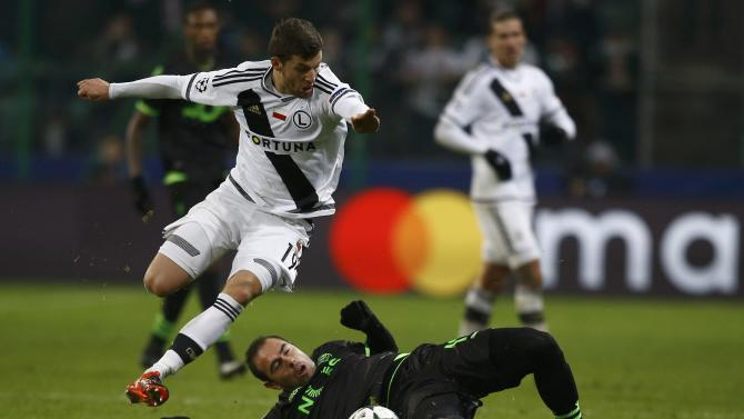Football Soccer -  Legia Warszawa v Sporting Portugal - UEFA Champions League group stage