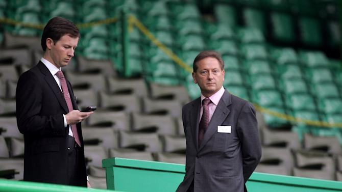 Heart director Sergejus Fedotovas, left, says the club will only be sold on 'to the right people at the right time'