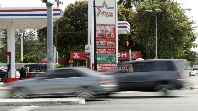 Say goodbye to $2 a gallon gas (Hey, but it's still really cheap)