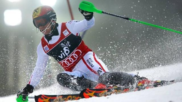 Alpine Skiing - Hirscher comes back to win Zagreb Slalom