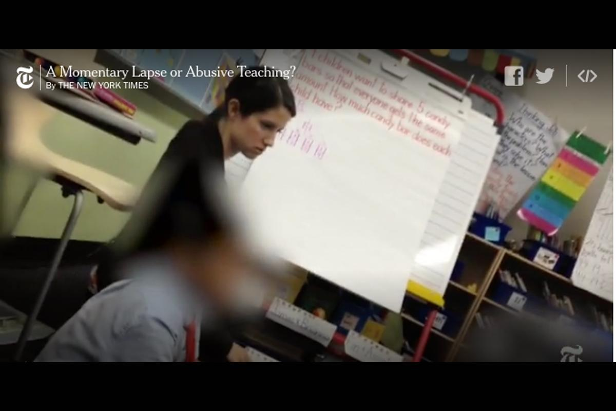 Disturbing video of teacher yelling at 1st-grader raises questions about NYC's biggest charter school network
