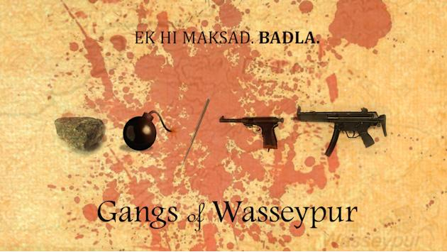 Fan posters of Gangs of Wasseypur