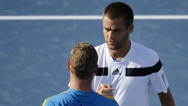 US Open - Heartbreak for Hewitt as Youzhny wins five-set thriller