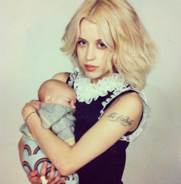 Celebrity photos: Peaches Geldof has posted numerous photos of her gorgeous son Astala since he was born a month ago, but this week they posed for their first professional portrait – and here's the re