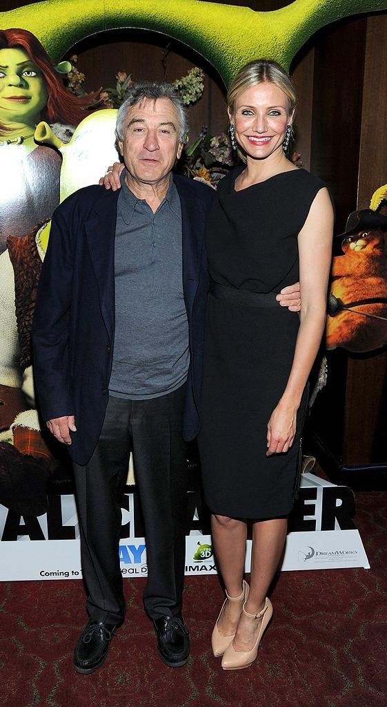 9th Annual Tribeca Film Festival Shrek Forever After Premiere 2010 Robert DeNiro Cameron Diaz