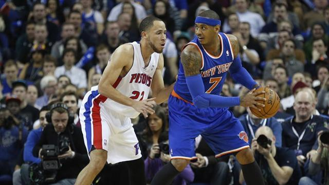 Basketball - Anthony leads Knicks to win in London