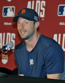 When Max Scherzer eventually signs, he'll push MLB's spending even further. (USA TODAY Sports)