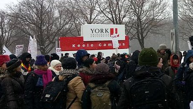 York University cancels classes amid strike (CBC)