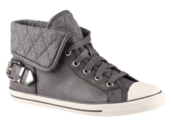 Brand: AldoWhat: Grey high-top sneakersPrice: Rs.5,600Where to buy: Majorbrands.in
