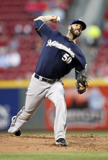 Milwaukee's Mike Fiers is an ideal late-round pitching target. (USAT)