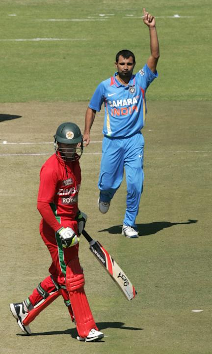 1st ODI: India vs Zimbabwe