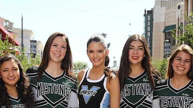 Kendall Jenner The Grove Cheerleading