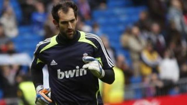Liga - Diego Lopez in Spain contention