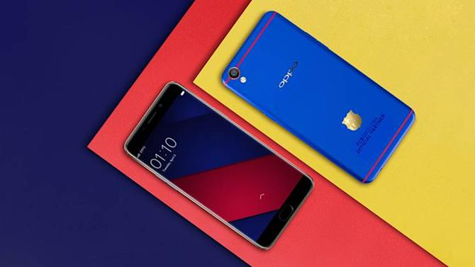 Oppo F1 Plus FC Barcelona Edition with 18K gold-plated club insignialaunched