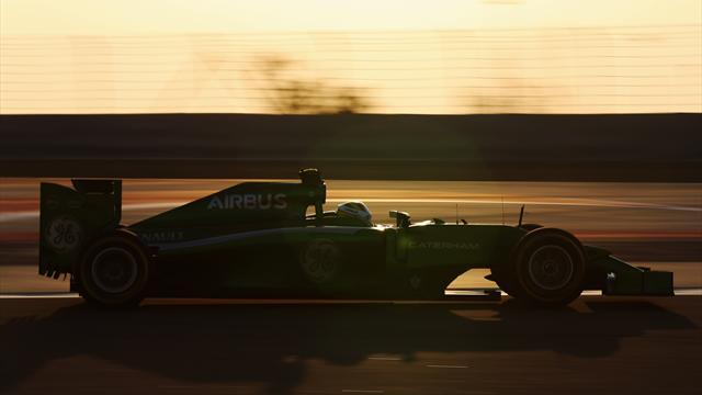 Formula 1 - Caterham: Finish no guarantee of points