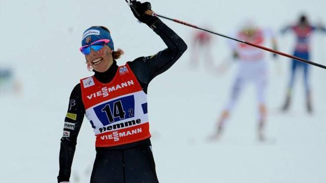 Cross-Country Skiing - Randall and Joensson win sprint World Cup titles in Lahti