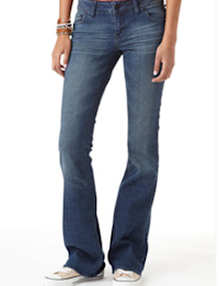 Riley Low-Rise Flare Jean