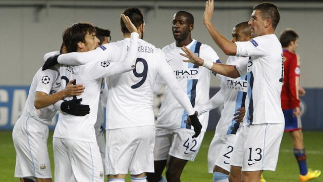 Champions League - Manchester City v CSKA Moscow: LIVE