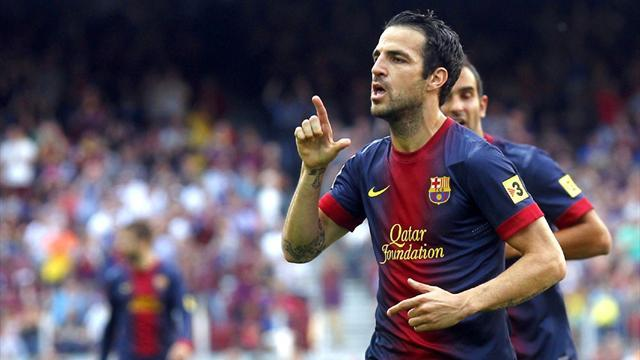 Liga - Man United make improved Cesc bid