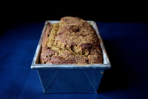 Molasses Pumpkin Bread
