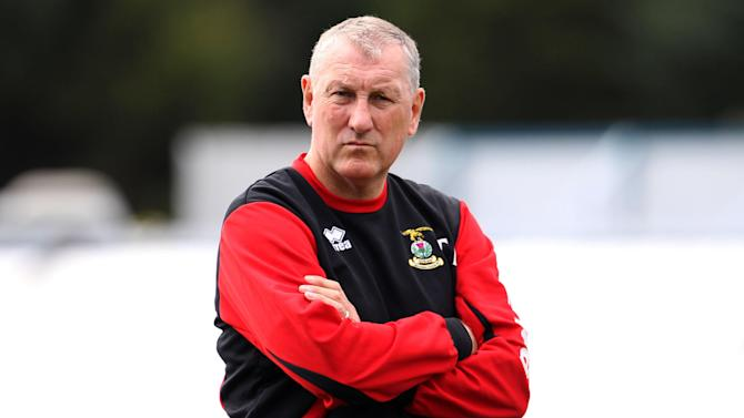 Inverness manager Terry Butcher was not happy with the referee