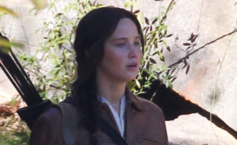 Katniss in 'Mockingjay'