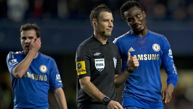 Premier League - Clattenburg back at Stamford Bridge