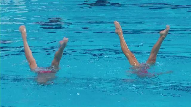 Swimming World Championships: USA make mixed synchro history