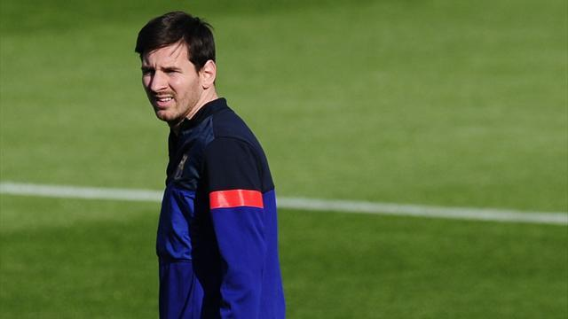 Champions League - Messi starts for Barcelona against Bayern