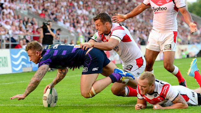 Rugby League - Super League - St Helens v Wigan Warriors - Langtree Park
