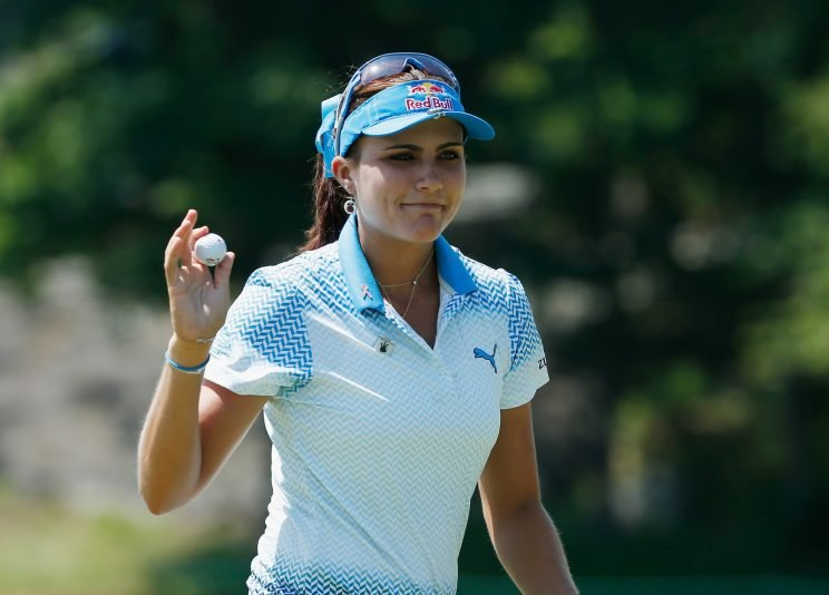 Lexi Thompson is breaking barriers. (Getty Images)